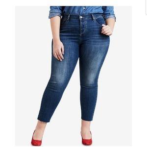 NWT Women's Levi's Wedgie skinny jeans Sz 22W